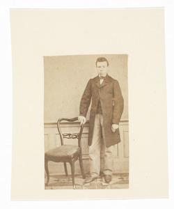 Portret van Nicolaas Donkersloot (1846-1874)