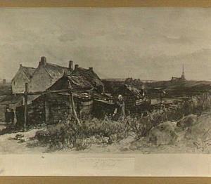 Huisjes in de duinen, Scheveningen