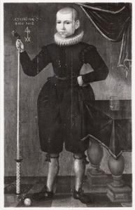Portret van  Jan (?) Gerritsz. Slijper (1607-?)
