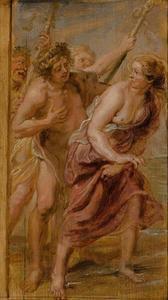 Bacchus en Ariadne (Ovidius, Metamorfosen, VIII, 174-182)