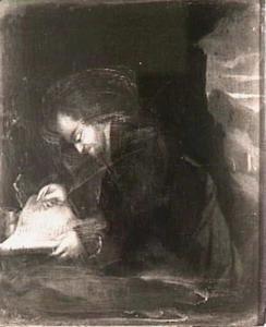 Een schrijvende heremiet