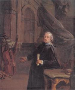 Portret van een adelijke geestelijke