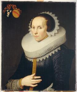 Portret van Catharina van der Burgh (1595-1671)