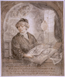Portret van de kunsthandelaar Jacob Moelart (1649-1727)