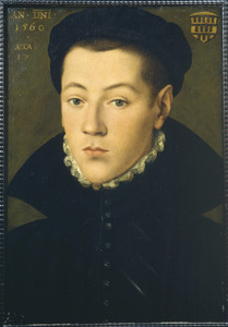 Portret van een 17-jarige jonge man, mogelijk uit de Keulse familie Overstolz de Efferen