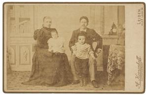 Portret van de familie Marks