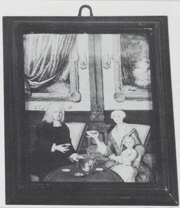 Portret van de familie van Adriaan Gustaaf Willem van den Heuvel (1702-1737)