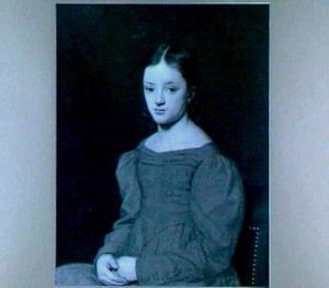 Portret van Maria Francina Philippina Waller (1815-1881)