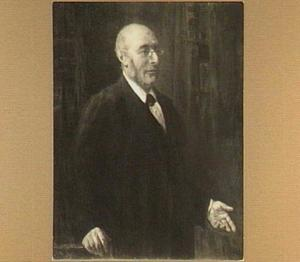 Portret van Barend Jozeph Stokvis (1834-1902), hoogleraar pathologie en geneesmiddelenleer