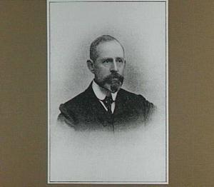 Portret van de schilder Anton L. Koster