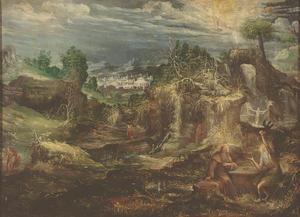 Sint Paulus van Thebe en Sint Antonius Abt in de wildernis