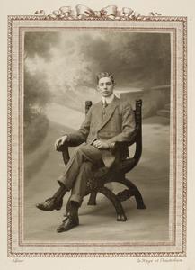 Portret van Frederik Albert Govert Gevers (1890-1984)