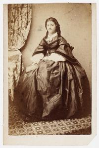 Portret van Meike Huidekoper (1838-1927)