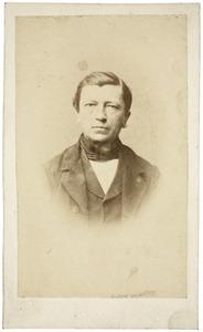 Portret van Albertus Slingenberg (1818-1890)