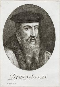 Portret van David Jorisz (1501-1556)