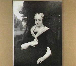 Portret van Sara de Boser (?-1743), echtgenote van Izak van Delden (?-?)
