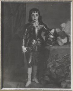 Karel II van Engeland (1630-1685) als prins van Wales