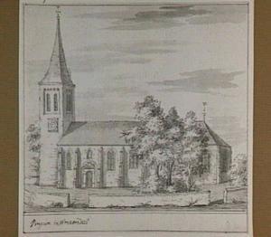 De kerk van Pingjum in Wonseradeel