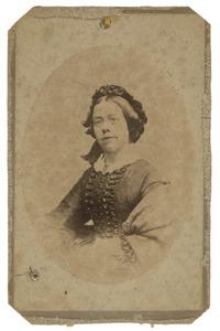 Portret van Caroline van Haersolte (1826-1909)