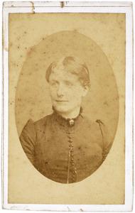 Portret van Maria Arnoldina Snouck Hurgronje (1849-1890)