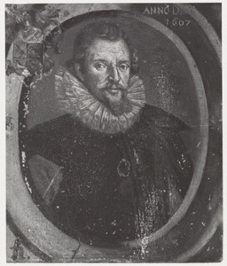 Portret van Hillebrand den Otter (1567-1643)