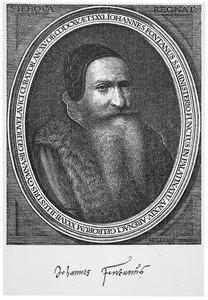Portret van Johannes Fontanus (1545-1615)
