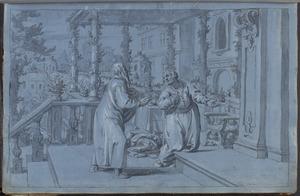 De profeet Natan verwijt koning David zijn kwalijke gedrag (2 Samuel 12:1-25)