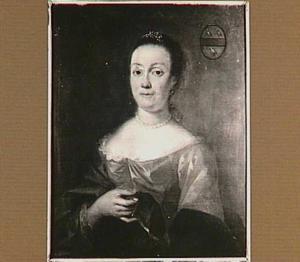 Portret van Maria Velsenaer (1711-1776), echtgenote van James John Melvill van Carnbee