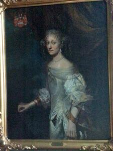 Portret van Margrethe Krabbe (1640-1716)