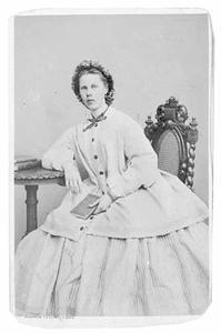 Portret van Johanna Louise Tissot van Patot (1846-1903)