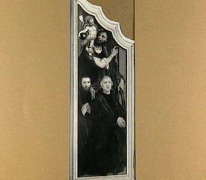 De H. Christoforus met stichters