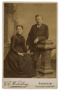 Portret van Herman Udo de Haes (1856-1922) and Maria Catharina Henriette Roosegaarde Bisschop (1860-1929)