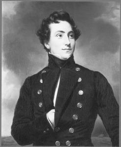 Portret van een onbekend marine-elève, mogelijk een lid van het Huis van Oranje-Nassau