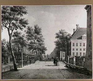De Prinsessegracht in Den Haag gezien naar de Herengracht
