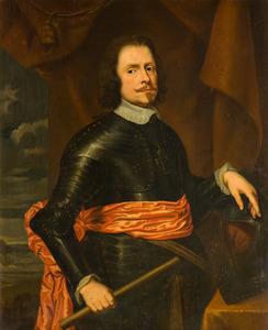 Portret van een man, waarschijnlijk Godfried Huyn (ca. 1588-1657)