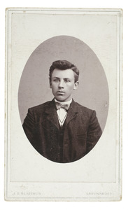 Portret van Wessel de Boer