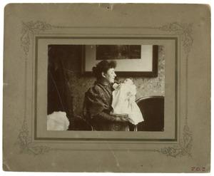 Portret van Dorothea Christina Jaspers (1861-1916) en Dora Maria Stolberg (1696-1984)