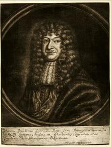 Portret van Johann Joachim d'Orville (1633-1688)