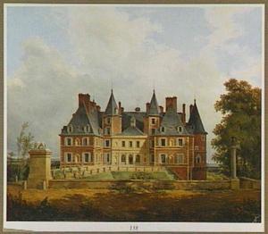 Gezicht op Château de Randan