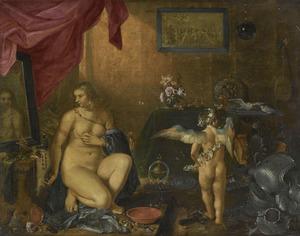 Venus aan haar toilet; een allegorie op de ijdelheid