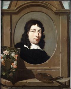 Portret van de schilder Pieter Gallis (1633-1697)
