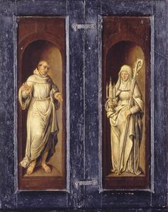 De HH. Franciscus van Assisi en Clara