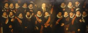 Korporaalschap van kolonel Gijsbert Hendricksz. 't Hart en zijn (onder)officieren en de provoost
