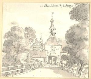 Bronkhorst, de slotpoort van het kasteel