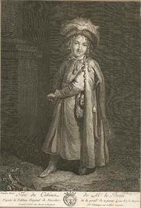 Portret van een jongen in Pools kostuum