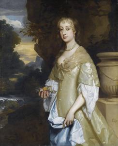 Portret van Frances Bard (ca. 1646-1708)