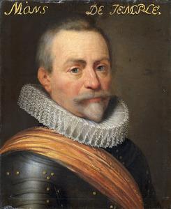 Portret van Olivier van den Tympel (1640-1603)