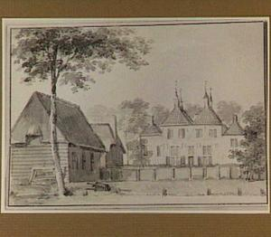 De achterzijde van het huis Goidschalxoord in de Hoekse Waard