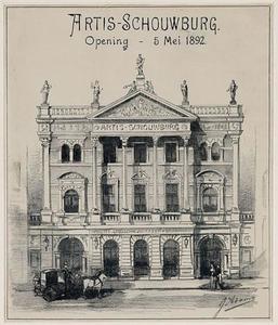 Artis-Schouwburg, opening 5 mei 1892