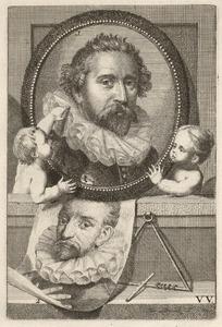 Portretten van Abraham Bloemaert (1566-1651) en Tobias Verhaecht (1561-1631)